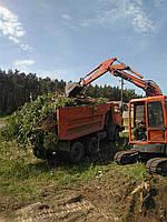 Уборка территории, садовых участков, дач