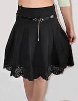 Модная школьная юбка для девочки 401