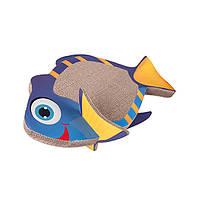 Когтеточка Karlie-Flamingo Fish Scratching Board для кошек, 45х27х18 см