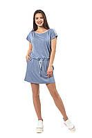 Спортивное платье Баунти  синий меланж