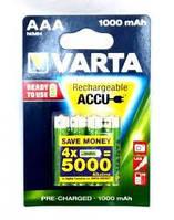 Аккумулятор Varta HR03 AAA Ni-MH 1000 mAh