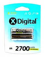 Аккумулятор X Digital HR6 AA Ni-MH 2700 mAh
