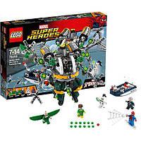 Конструктор Lego Super Heroes Человек-паук в ловушке Доктора Осьминога 76059