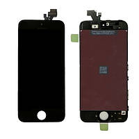 Дисплей (LCD) Apple iPhone 5C с сенсором и рамкой Black Original