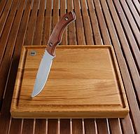 Доска и нож для подачи стейков steakrock