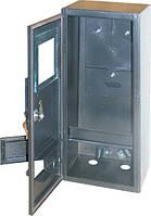 Шкаф e.mbox.stand.n.f1.6.z.str под 1-фазный счетчик (пустой) навесной 6 модулей с замком уличный