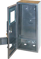 Шкаф e.mbox.stand.n.f3.6.z.str метал.под 3-й счетчик пустой навесной 6 мод.с замком уличный