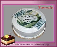 Торт на День Рождения Доллары