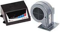 Контроллер для котла KG ELEKTRONIK SP 05 LED и вентилятор DP02