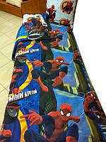 Детский комплект постельного белья Человек Паук