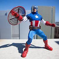 Супергерой Марвел Marvel Ultimate Series Captain America Premium Action Figure - 11 1/2''
