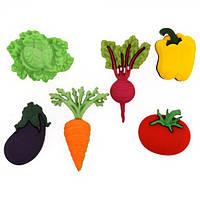 Декоративные пуговицы. Свежие овощи