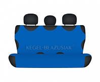 Майки на сиденья Kegel задние голубые (1шт/комп)