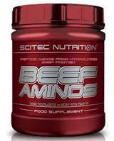 Купить аминокислоты Scitec Nutrition Beef Aminos 200 tabs