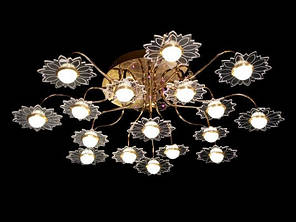 Люстра классическая, хай-тек, ХРОМ  (US), фото 2