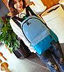 Рюкзак городской AIWEIER Голубой, фото 2