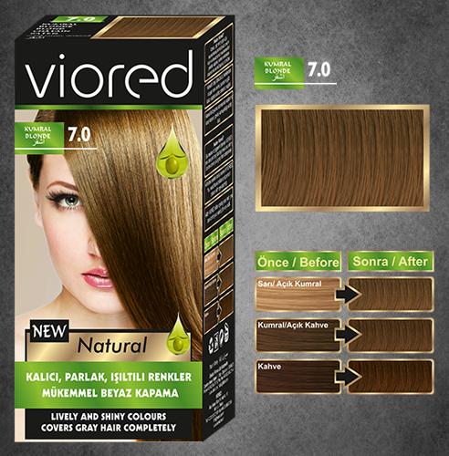 Краска для волос Viored 7.0
