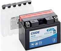 Аккумулятор мото EXIDE B/O 12V 11.2AH 205A YTZ14-BS/ETZ14-BS [150X87X110]