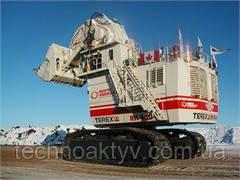 Крупнейший в мире экскаватор с обратной лопатой O&K RH 400