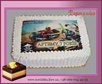 Детские торты для мальчиков Ниндзяго