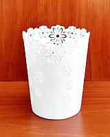 Кашпо пластиковое для орхидей, 17х14 см