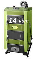 Универсальный твердотопливный котел длительного горения SAS Mi 14 кВт (Польша)