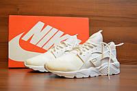 Белые Мужские Кроссовки Nike Huarache 2017 арт. 1014, фото 1