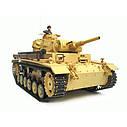 Танк HENG LONG Tauch Panzer III Ausf.H 3849-1, фото 4