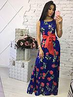 Женское шикарное платье из шелка (3 цвета), фото 1