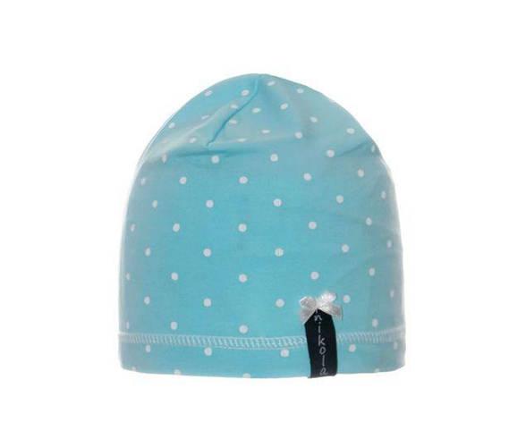 Нежная детская летняя шапочка для девочек от Marika Польша, фото 2