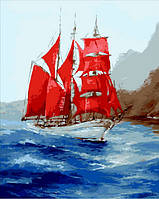 Розмальовка за номерам Mariposa Под алыми парусами Q-1745