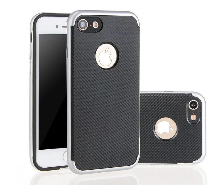Чехол с карбоновым покрытием для iphone 7 Plus