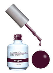 Гель-лак Lechat Perfect Match 132 MAROONSCAPE - марсала, 15 мл
