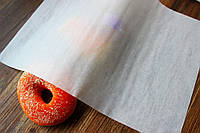Жировлагостойкая бумага для упаковки пищевых продуктов разных размеров.