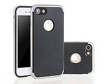 Чехол с карбоновым покрытием для iphone 5/5s/SE