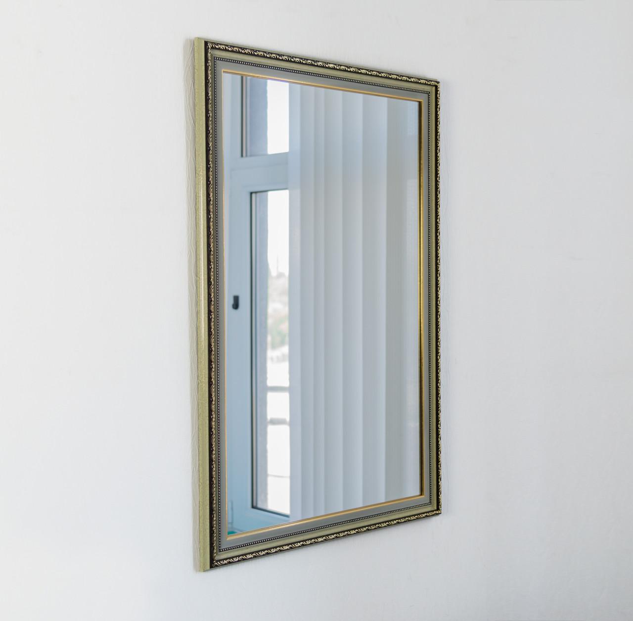 Зеркало в багете,  зеркала настенные, зеркала для ванной, прихожей 5227-46