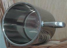 Металева кружка, ємність 300мл з індивідуальним дизайном, під замовлення, фото 2