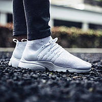 "Кроссовки Nike Air Presto Ultra Flyknit ""All White"""
