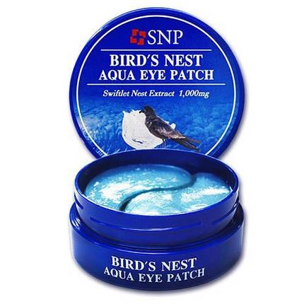 Гидрогелевые патчи с экстрактом ласточкиного гнезда SNP BIRD'S NEST AQUA EYE PATCH, фото 2