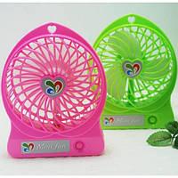 Настольный вентилятор аккумуляторный