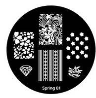 Диск для стемпинга Spring №01
