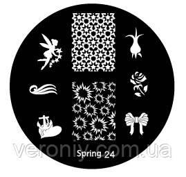 Диск для стемпинга Spring №24