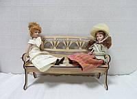 Кукольная мебель Скамейка-2