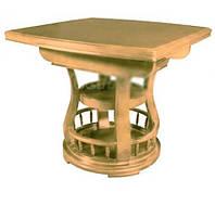 Деревянный раскладной обеденный стол ED03 ольха
