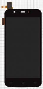 Дисплей с тачскрином Fly iQ4414 Quad EVO Tech 3 черный