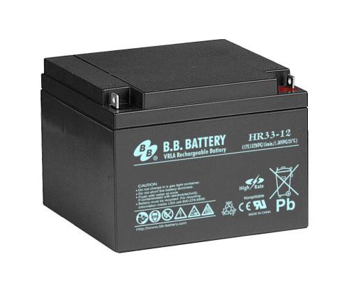 Аккумуляторная батарея B.B. Battery HR 33-12 (12V, 33 Ah)