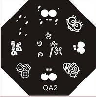Диск для стемпинга QA №02