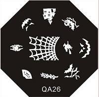 Диск для стемпинга QA №26