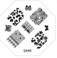 Диск для стемпинга QA №66