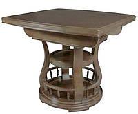 Деревянный раскладной обеденный стол ED03 орех